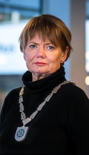 Ragnhild Bergheim, ordfører i Lørenskog