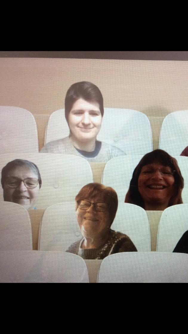 Bildet er fra et teamsmøte for styret i Viken KrF Kvinner, fra venstre: Anne Karine Gramen, Hava Biser Ihtiman, Torill Lohne Eriksen og Kari Anne Karlsen