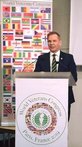 Dan-Viggo Bergtun fra Lillestrøm er President i World Veterans Federation, som knytter over 60 millioner veteraner fra 142 land i arbeid for fred og velbefinnende for veteraner som har vært involvert i kriger og konflikter.