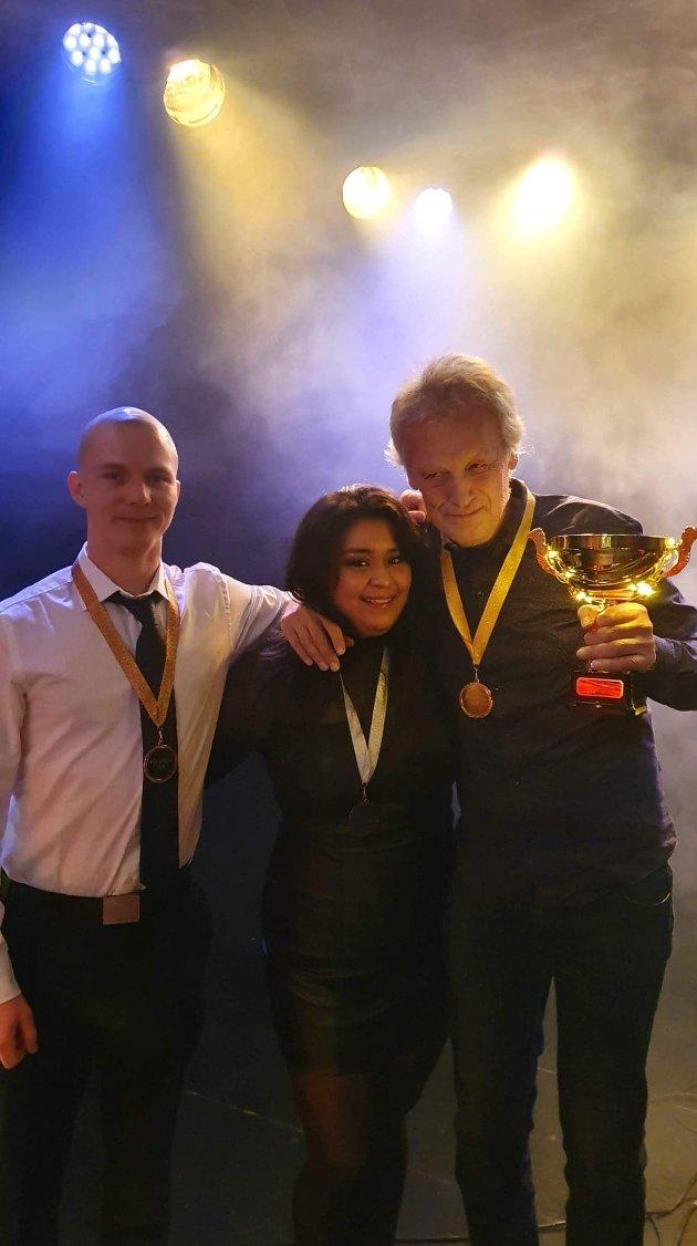 Magnus, Marita og Øystein