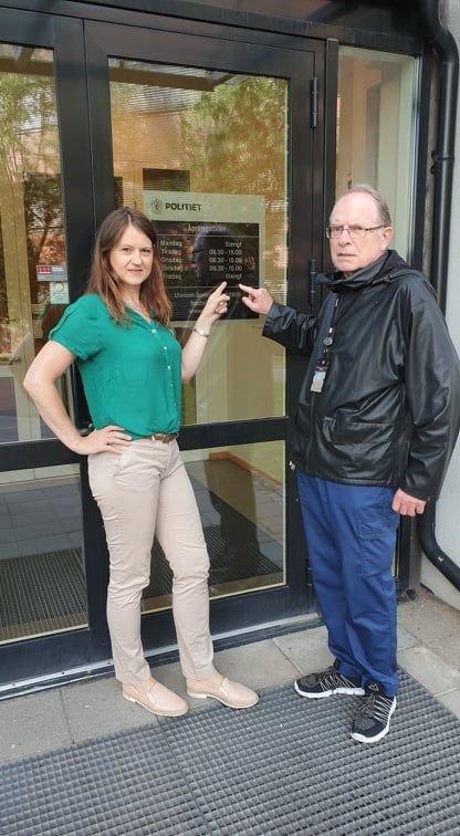 Anne Lech og Ivar Christensen i Nittedal Senterparti vil ha tilbake fullbemannet lensmannskontor i Nittedal.