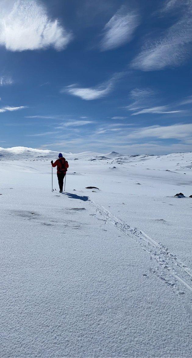 Skitur på Vauldalen.