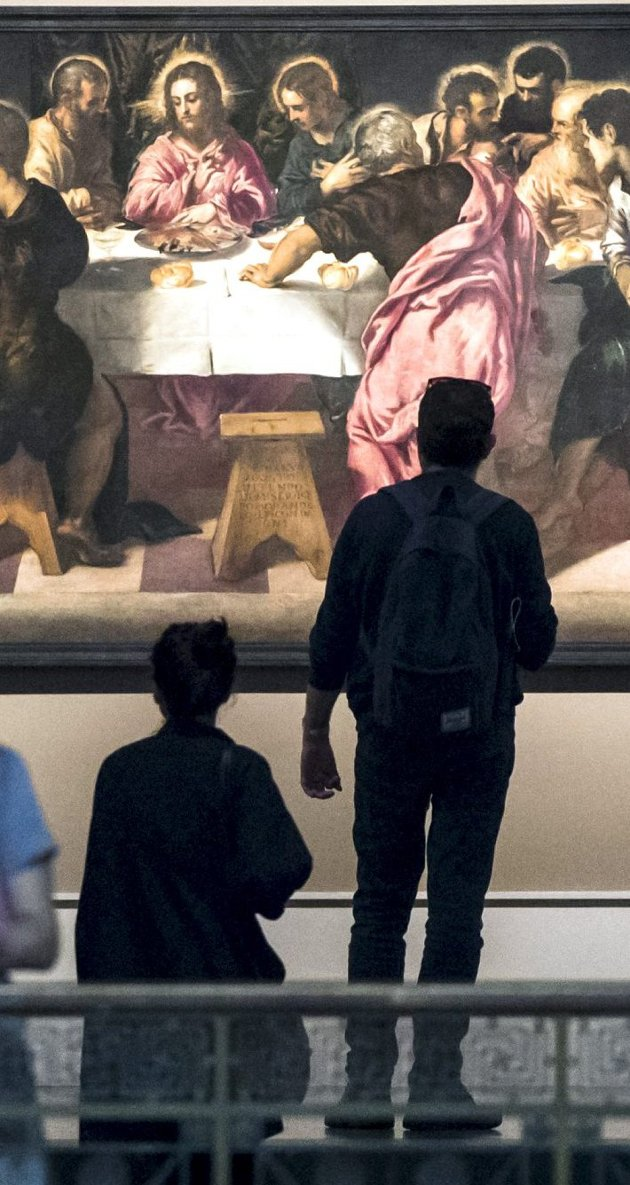 Referanser: Hvordan skal man kunne forstå kunstnere som Tintoretto uten bibelkunnskap? FOTO: NTB scanpix