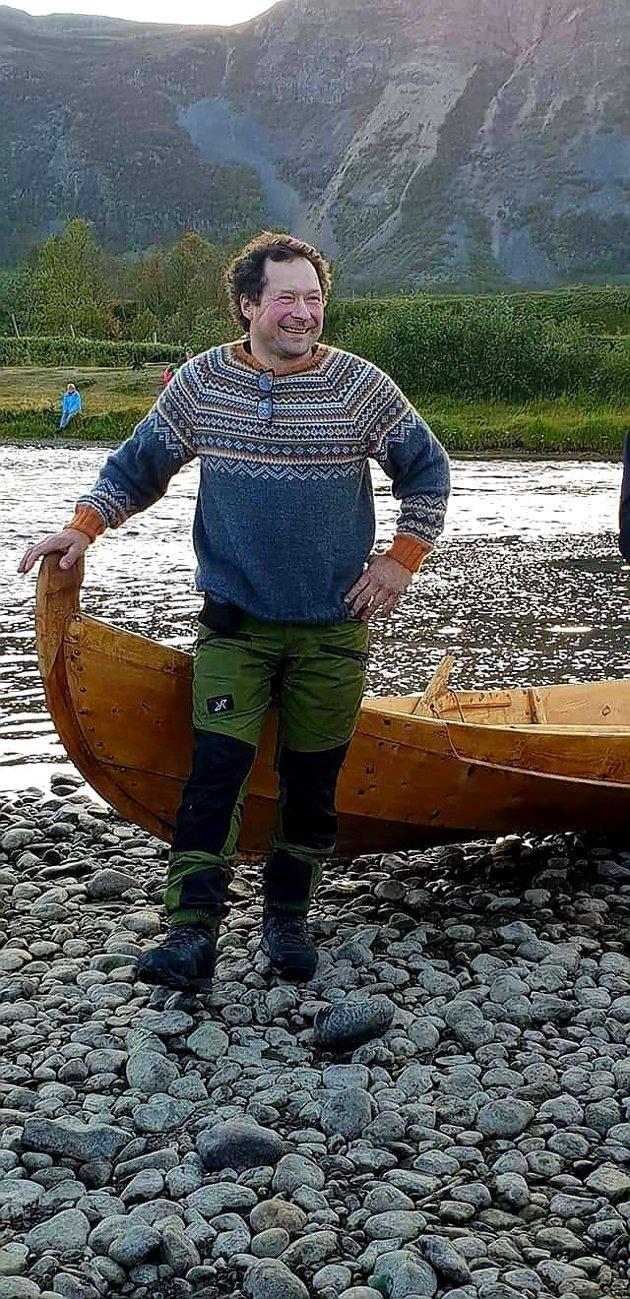 Øyvind Lidbäck, 1. kandidat for Nordkalottfolket Avjovarre