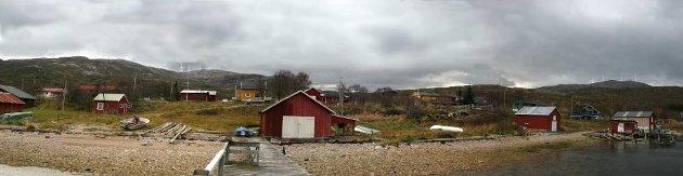 Inne fra vindkraftverket Raudfjell.