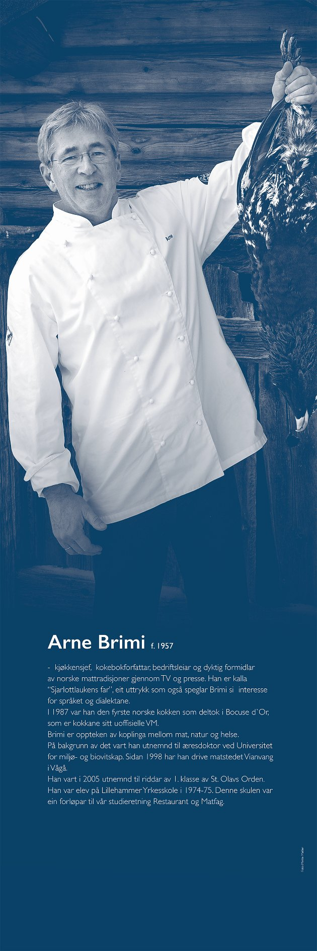 Arne Brimi, kjøkkensjef og kokebokforfatter