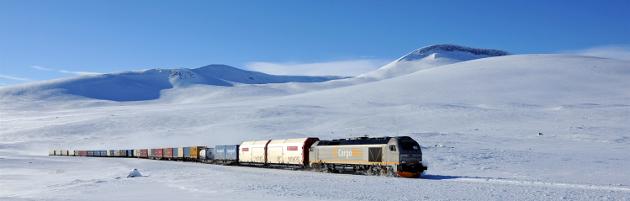 Den store matgrossisten ASKO har overført sin transport fraTrondheim til Bodø fra vei til tog i et samarbeid med CargoNet, Meyership og Nova Sea. Dette har gitt området 13.000 færre trailere på veiene og en reduksjon på ca 6000 tonn CO2 i året.