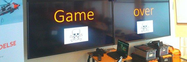 Det blir fort Game Over om en ikke bruker hodet når en er ute i den digitale skyen