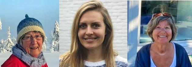 HASTER: Kari Larsen, Åshild S. Storheim og Inger Johanne B Kjuul mener temaplanen for flyktninger må behandles allerede på våren da de opplever store sprik mellom temaplanens gode intensjoner og det som skjer i praksis.