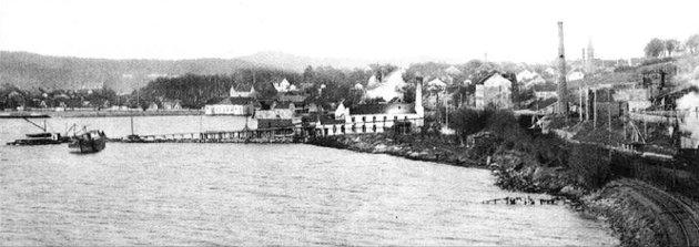 I 1948 startet produksjonen av steinull i Moss.