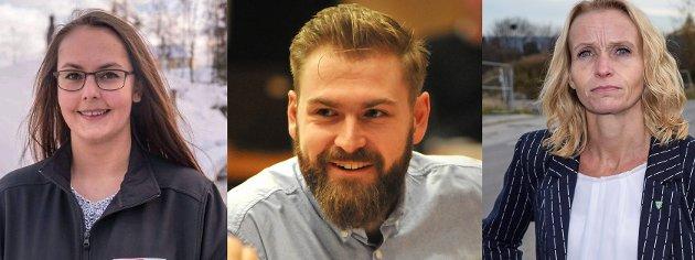 KAMP: Både Lene Myhrvold (t.v.) og Guri Bråthen (t.h.) ønsket seg tredjeplassen. Stian Olafsen mener plassen må gå til noen «på gølvet».
