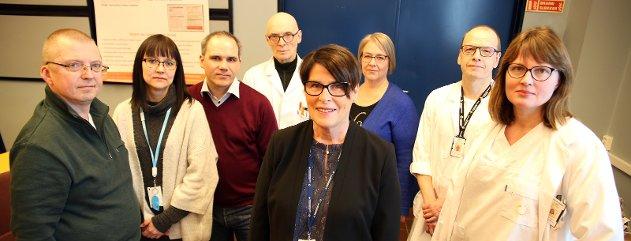 Ole I. Hansen (Fagforbundet), Marit Karina Rakfjord (Delta), Alf Martin Eriksen (psykologforeningen), Arnt Ragnvald Johannessen (overlegeforeningen), Eva Håheim Pedersen, Lill Karin Kråkøy (sykepleierforbundet), Torben Wisborg og Ingrid Petrikke Olsen.