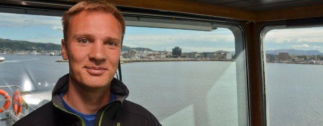 DISTRIKTSPOLITIKK I FOKUS: Bård Ludvig Thorheim fra Bodø er Høyre stortingskandidat i Nordland. Foto: Avisa Nordland.