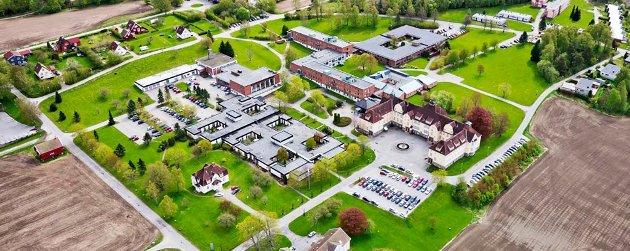 Nå planlegges det asylmottak med 1.200 plasser på det tidligere sykehusområdet som Veum Park eier.