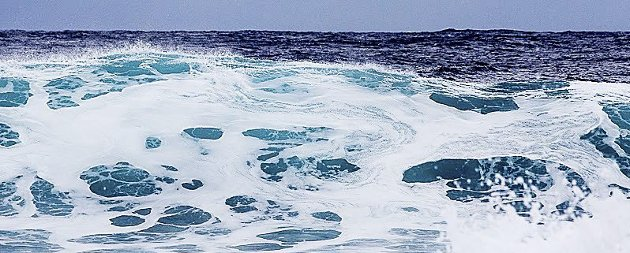 Ullent: Som opprørt hav det er vanskelig å få tak på.