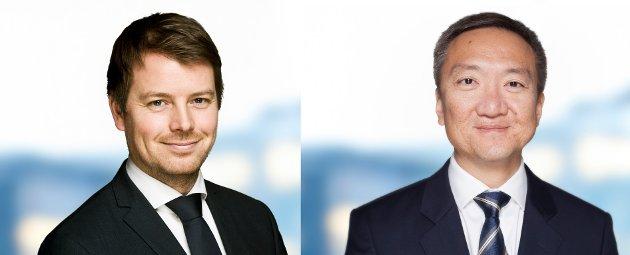 Stig Horstad (til venstre) og  Joakim M. Hovet