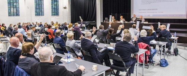 ENDRING KREVES: Kassa er bunnskrapt og vi må raskt tilrettelegge for større økonomisk handlingskraft! skriver BedreLarviks Erik A. Sørensen.Arkivfoto