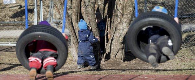 Småbarnsfamilier: Det er på tide at vi følger opp ordene om at vi vil være en kommune for småbarnsfamilier, skriver Ole-Johnny Odland. Illustrasjonsbilde/ANB