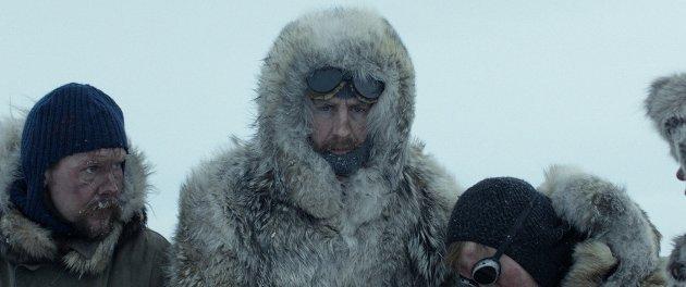 Kjølige greier: Filmen om Roald Amundsen har premiere 15. februar, men kunne gjerne vært enda kjøligere.