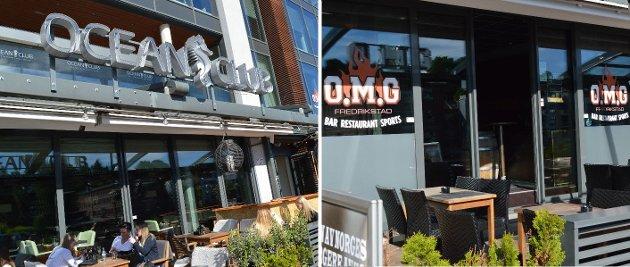 Fikk bevilling for ett år: Restaurantene OMG og Ocean Club på brygga fikk ny skjenkebevilling, men bare for ett år på grunn av økonomiske forhold ved driften.
