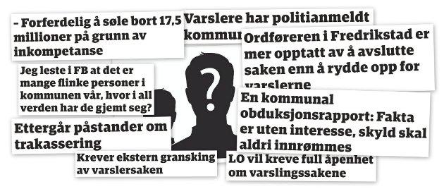 Partene i den mye omtalte varslersaken har kommunisert kun skriftlig. Nå er det på tide at de setter seg ned og tar en prat, mener Fredriksstad Blad.
