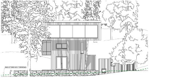 Bygningene er så utradisjonelle at det er vanskelig å se hva som skulle være visuelle kvaliteter i seg selv, skriver Paul Grøtvedt, som raser over at noen vil bygge en ultramoderne bolig på idylliske Veierland.