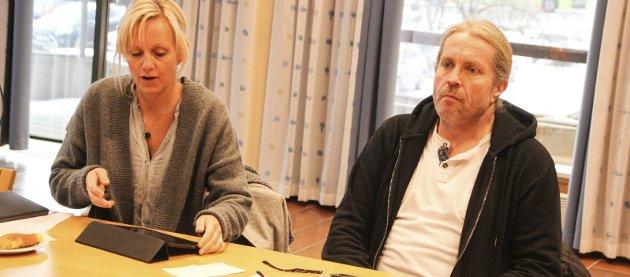 RYDDIG OG KORREKT: Jevnaker SV, her ved Anne Paulsen og Bård Brørby vil forsikre seg om at Jevnaker kommune skal være en ryddig og korrekt arbeidsgiver i prosessen hvis innsparinger på JORS må gjennomføres.