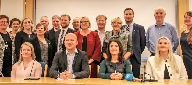 Senterpartiets stortingsgruppe er nesten fordoblet. Senterpartiet i nord har gått fra et utgjevningsmandat til fire direktemandater.