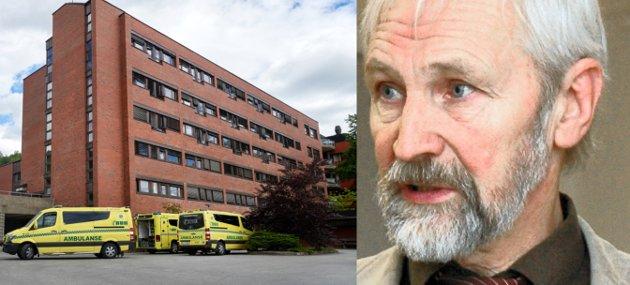 Alf Daniel Moen er tidligere styreleder i Helse Nord-Trøndelag