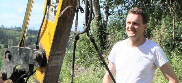 Bredbånd: Det blir nå graving av fiber til bredbånd også utenfor sentrale områdene i Gran kommune.