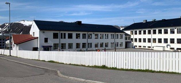 Honningsvåg skole/arkivfoto