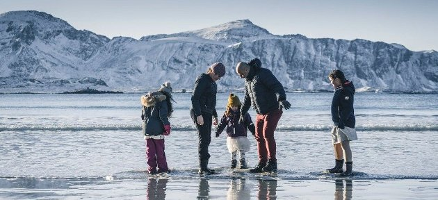 La fire Lofot-barn få pappaen sin tilbake.