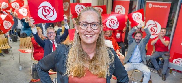 Stortingsvalg 2021: Lise Selnes Arbeiderpartiet. Valgvake Brumunddal.