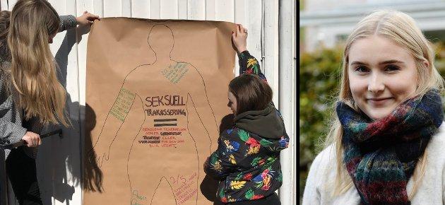 Sosialistisk ungdom tar nå kampen mot seksuell trakassering og kjemper for at alle skal være trygge og frie uansett hvor de er, skriver Emma Kjellstadli.