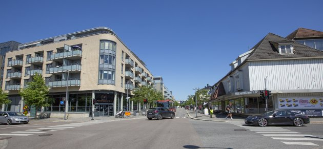 Ikke en del av Lillestrøm by: Innsenderen er fornøyd med utfallet etter at lokalt engasjement fra folk på Strømmen førte fram. Foto: Hans Olav Nyborg