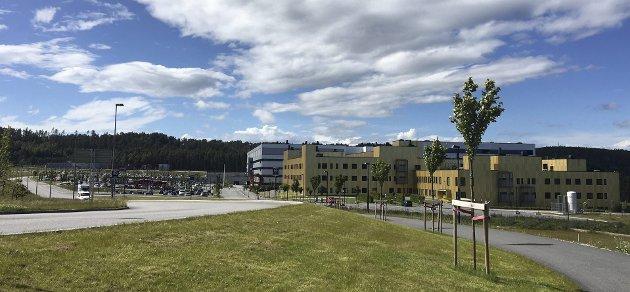 Kritikkverdig: En rekke forhold ved det nye sykehuset mellom Råde og Sarpsborg har blitt påpekt og må justeres og endres.