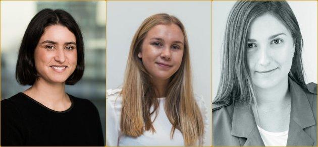 – VÆR BEVISST: Henriette Klougart Jevnesveen (NHO), Gjertrud Nordal (Høyre Innlandet), gründer Luisa Arango og fire andre kvinnelige ledere har skrevet under brevet.