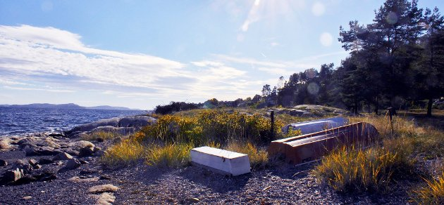 Framtid: Om 70 år vil fjorden rundt Hurumhalvøya har steget med en halv meter og den såkalte 200-årsflommen vil komme årlig.foto: Edgar Dehli