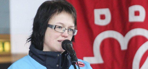 Else Randi Kolby, leder Fagforbundet Gran