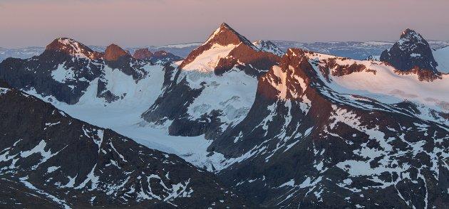 MEKTIG: Selv de mest erfarne kan få uante utfordringer i fjellet.