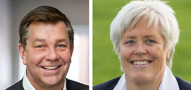 HØYRETOPPER: Fredrik Haaning og Elly Therese Thoresen.