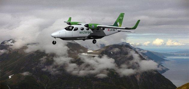 ELEKTRISK: Dette flyet kan være på vingene allerede i 2026. Liten og lett og på kortere distanser. Nå ønsker nordnorske interesser at forskningen på utslippsfrie fly skal foregå på kortbanenettet i landsdelen.