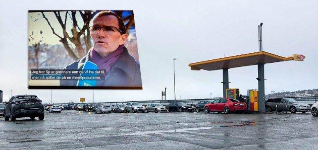 """KAMP MOT DIESEL: Stortingsrepresentant Espen Barth Eide i Oslo Arbeiderparti har gått hardt ut mot det han kaller """"diesel-populisme""""."""