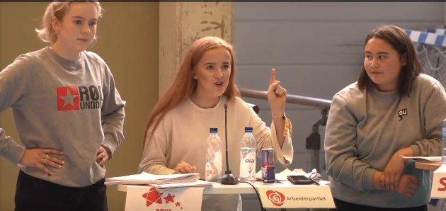VALG: Ingrid Tønseth Myhr og Ap vant skolevalget, som bød på flere overraskelser.
