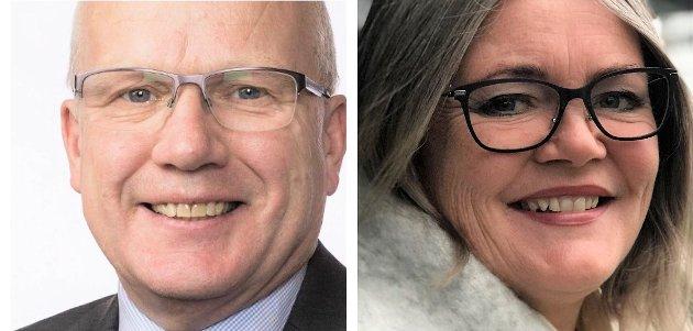 ROLLER: - Cyberforsvaret på Jørstadmoen og Senter for cyber- og informasjonssikkerhet (CCIS) på Gjøvik har nøkkelroller i kunnskapsutviklingen og evnen til å håndtere sivile og militære trusler, ser Hårek Elvenes og Kari-Anne Jønnes (H).