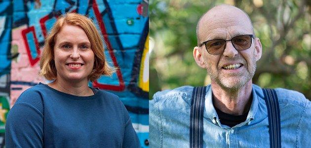 TA PRATEN: I anledning Son pride 4. september har Kristine Meek og Kjell Meek deler sine egne private erfaringer om å finne frem til den du er.