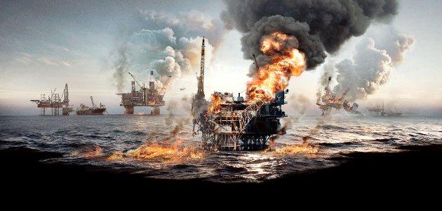 Slik ser det ut når katastrofen inntreffer i premiereklare «Nordsjøen».