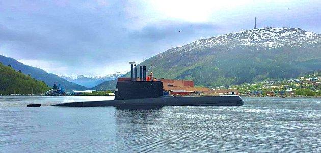 Ubåt i Førde