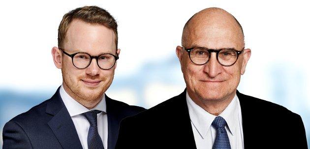 Advokatfullmektig Andreas Reitan og partner/advokat Geir Frøholm, SANDS Advokatfirma DA