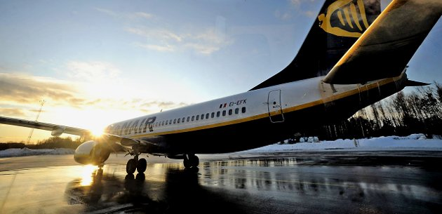 Skiftet fokus: Tor Prøitz mener de tre miljøpolitikerne skriver mer om Ryanair enn om flyseteavgiften: Arkivfoto: Geir A. Carlsson